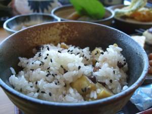 食のトレンド「栗ご飯」
