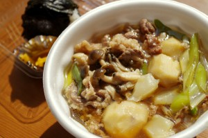 里芋の芋汁