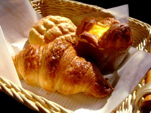 ベーカリーショップのパン